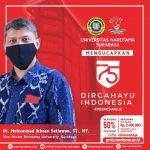 Dirgahayu 75 Indonesia