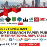 Workshop Research Paper Publication Journal International Reputable Indexed III